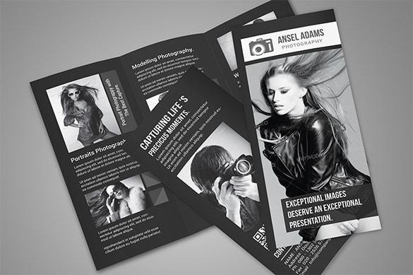 Brochura sobre fotografia em Photoshop