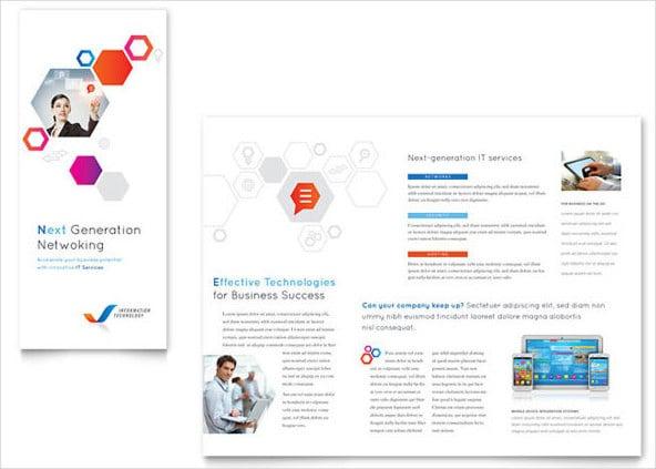 Templates de Brochura Tri-Fold Gratuito